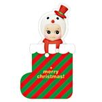 Sonny angel(크리스마스 양말 카드-눈사람)