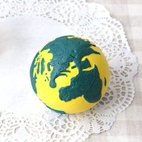 Earth Squeeze Ball-Yellow(옐로우)