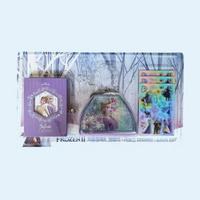 겨울왕국2 핸드백&다이어리&스티커 문구세트