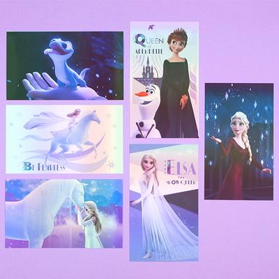 겨울왕국2 홀로그램 엽서 (6 option)