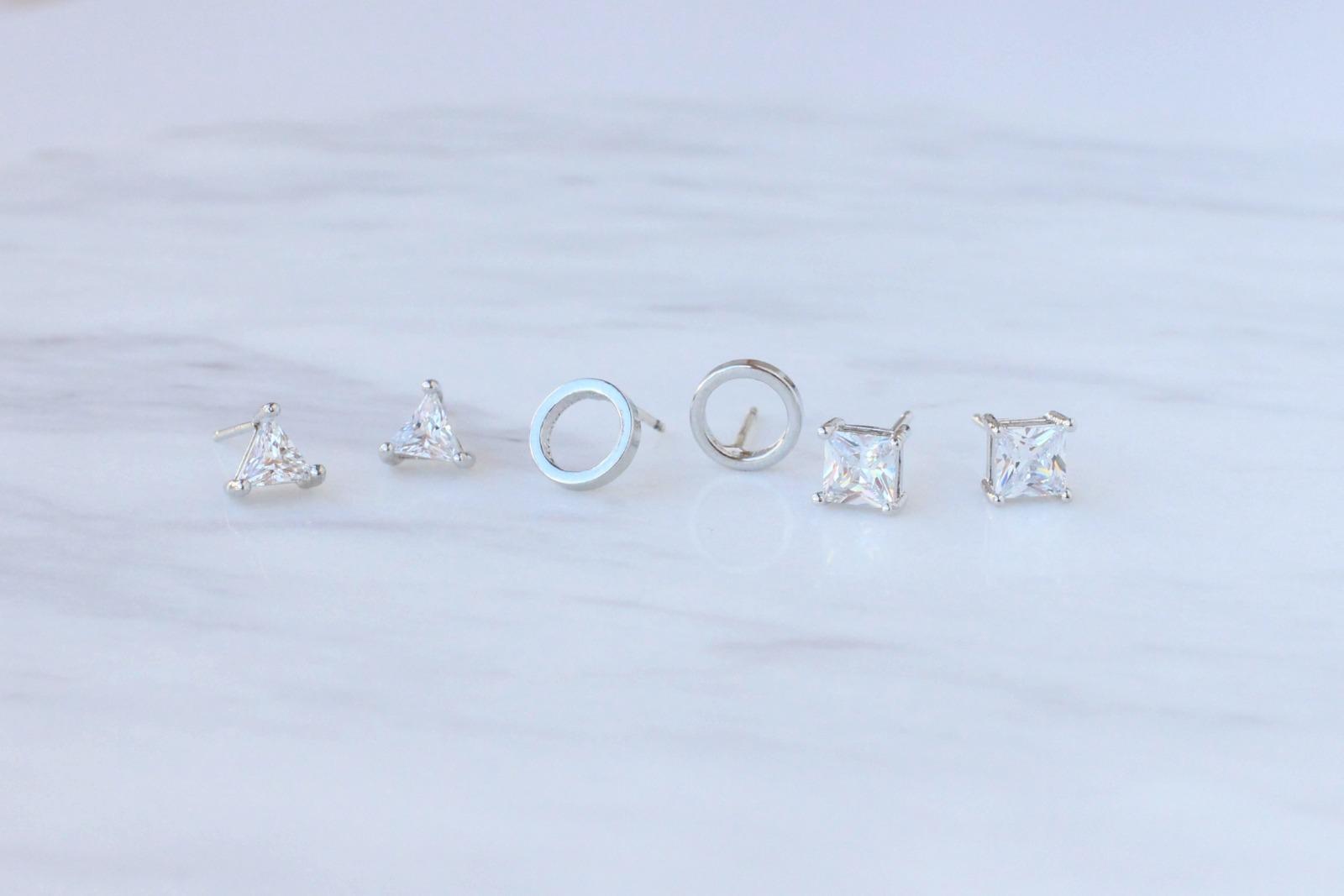은침 데일리 미니써클 귀걸이 34F26 - 러블리루, 11,000원, 골드, 볼/미니귀걸이
