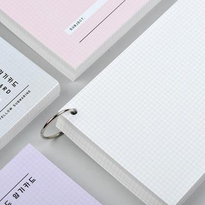 [YS]A6그리드암기카드