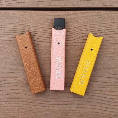 전자담배 CSV 쥴 JULL 이니셜 이태리 가죽 케이스