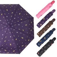 P4255 사슴 3단 자동 우산(5color)