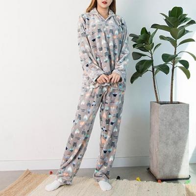 남성용 포근 수면잠옷 세트(5color)