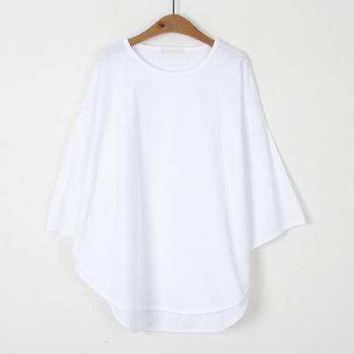 라운딩 루즈 7부 티셔츠(4color)