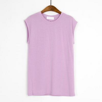 베이직 캡소매 나시 티셔츠(7color)