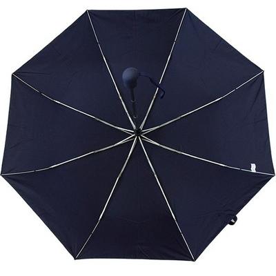 무지 네이비 3단자동우산