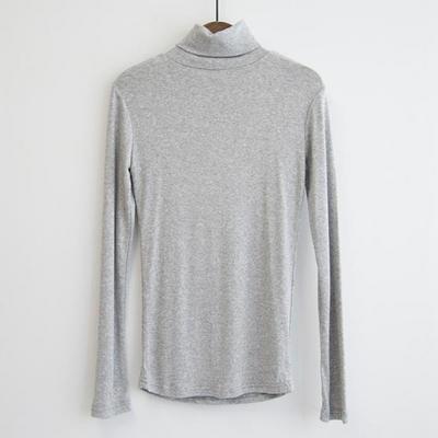 소프트 슬림 폴라 티셔츠(5color)