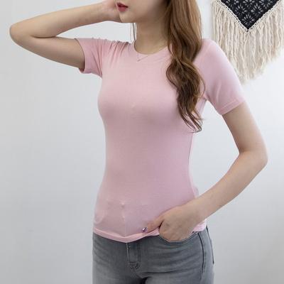 P9031 슬림 레이온 스판 티셔츠