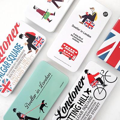 LONDON 스틸 펜슬 케이스 ver.2