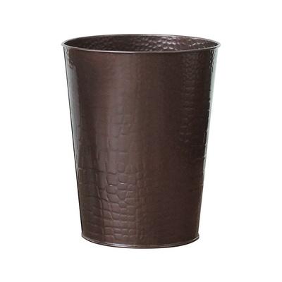 에이동천사호 원형 휴지통 - 초콜릿 컬러
