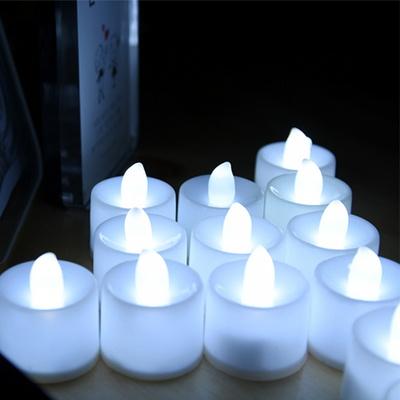 LED 티라이트캔들 백색(낱개)