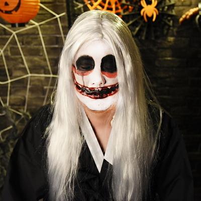 귀신 백색긴머리가발