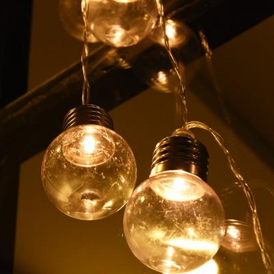 LED 10P 건전지(밧데리)꼬마에디슨 전구 (2color)