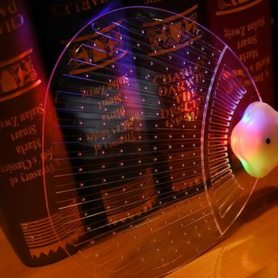 LED 부채 (칼라)