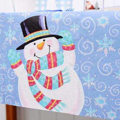 종이 테이블보 (눈사람)