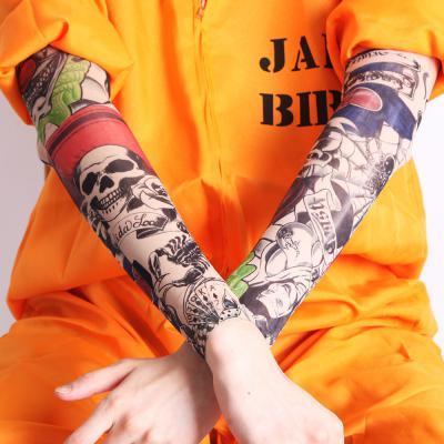 타투(문신) 팔 토시- F. 삐에로