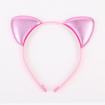 깜찍이 고양이머리띠 (핑크)
