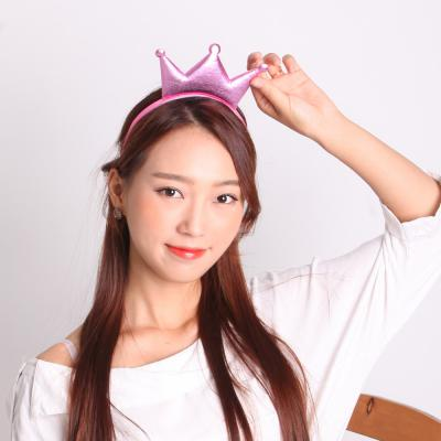 깜찍이 왕관머리띠 (핑크)