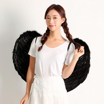 천사날개-블랙(대)