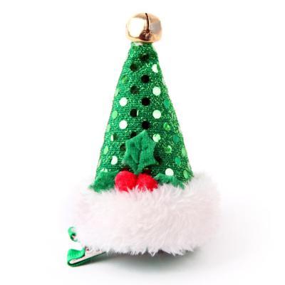 귀요미 산타모자 머리핀 (그린)