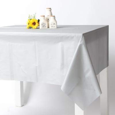칼라 비닐 테이블보-실버(1매입)