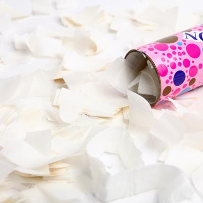공기압폭죽 (중) 하얀종이꽃가루