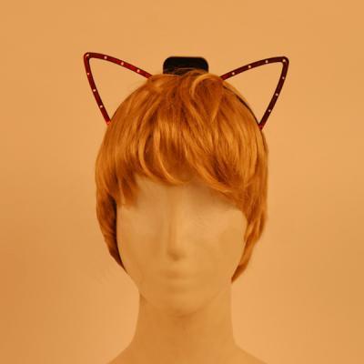 LED 와이어점등 고양이머리띠 3color