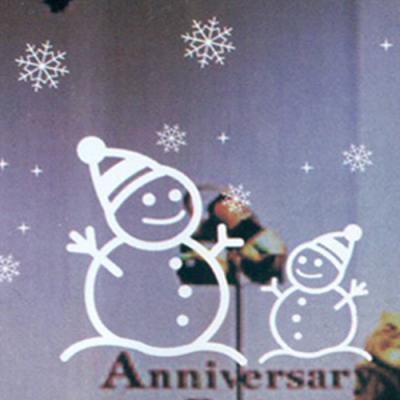 크리스마스 윈도우 스티커 (대) 눈사람