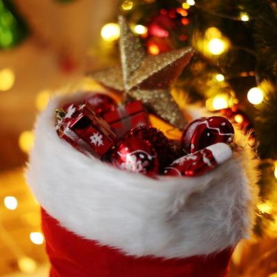 크리스마스 대형 산타양말