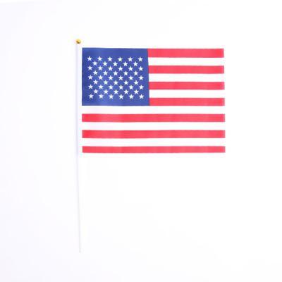 성조기 (미니천수기) 미국국기-10개입