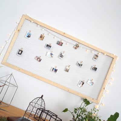 다니우드 원목 철망 사진걸이(120cm)