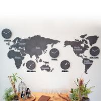 에코보드 세계지도 시계(대_특대형)