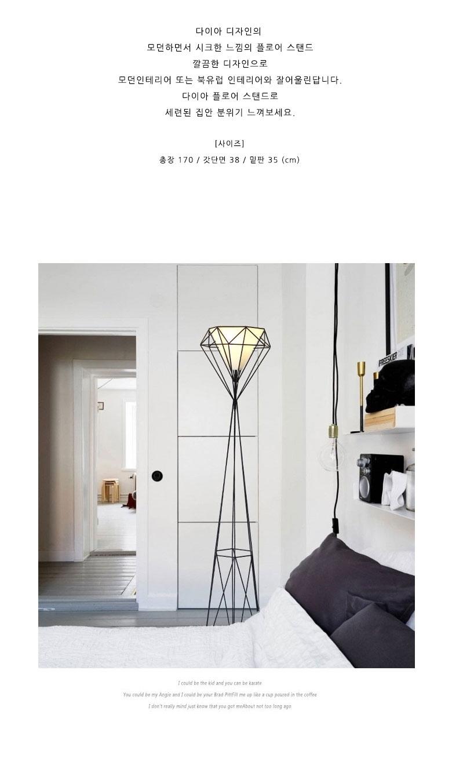 다이아모던 거실 인테리어 조명(LED전구포함) - 람세스아트, 206,000원, 리빙조명, 플로어조명