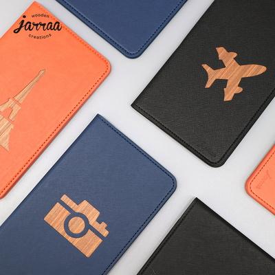 자라 여권케이스 리얼우드 여권지갑 커버 jarraa