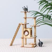 DIY 미니어처 만들기 - 코코의 캣타워