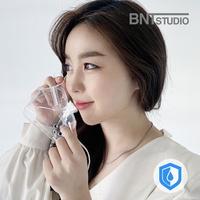 비엔티스튜디오 연예인 3D 립뷰 클리어 투명 마스크