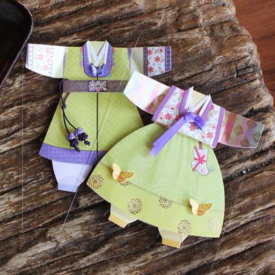 연두나비 여자 아동한복 (035-SH-0014)