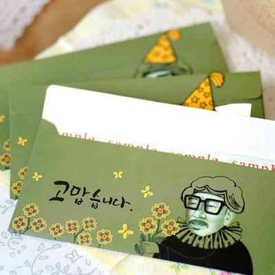 방긋 세종대왕님 돈봉투 3매SET (079-ME-0022)