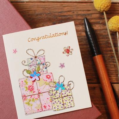 꽃다운 선물축하 미니카드 (010-SG-0108)