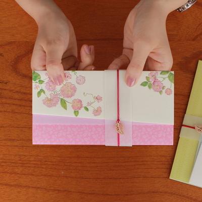 낮달맞이 꽃 축하봉투 (035-ME-0042)