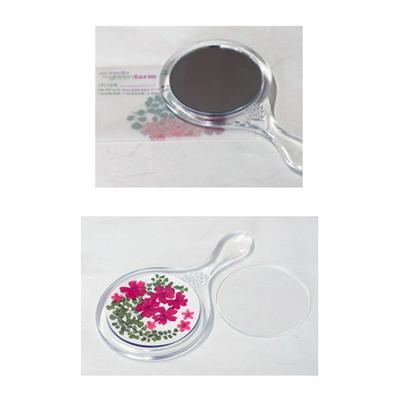 꽃보듬(압화) 동글이 거울 만들기 KIT