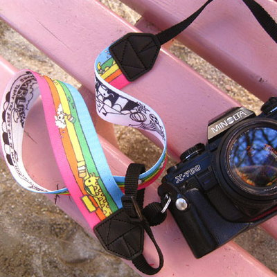 Double sided camera strap -O