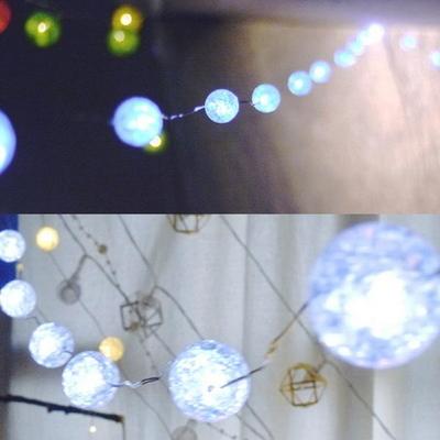 LED 미니 캔디볼 20P 화이트
