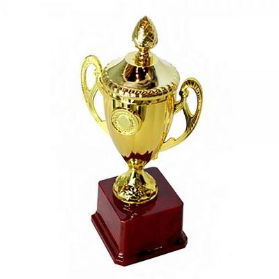 대회용 우승 시상트로피 (원통형 / 25.5cm 플라스틱)