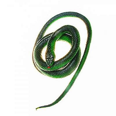 리얼 뱀모형 (그린)