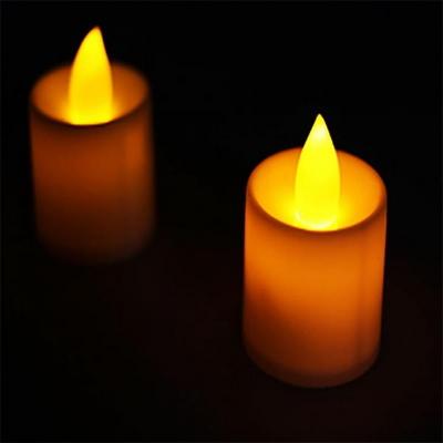 LED 티라이트 캔들 (지속형) 촛불색