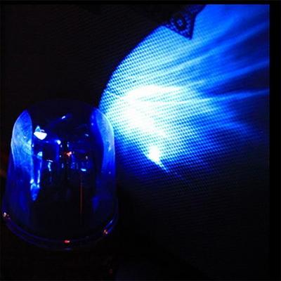 LED 블루 경광등 (건전지형)