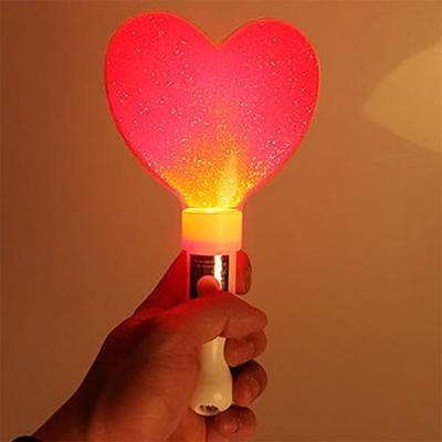 LED 큐티 하트봉 (레드)